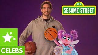 Sesame Street: Pau Gasol Coaches Abby Cadabby