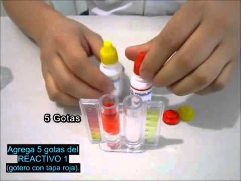 Kit Medidor de pH y Cloro Libre Residual (OTO) en agua PROQUIMCO