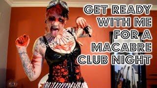 GRWM For A Macabre Club Night