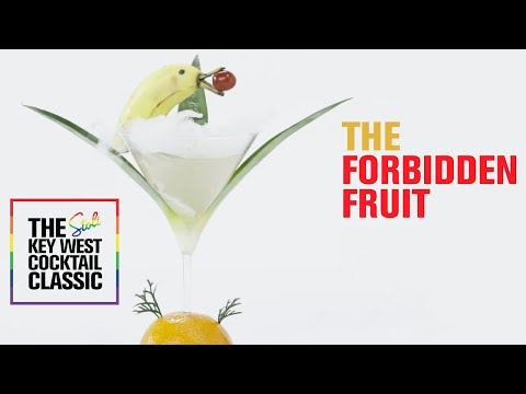 The Forbidden Fruit: A Stoli Key West Cocktail Classic Winning Recipe