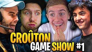 LE DÉBUT D'UNE GRANDE AVENTURE - Croûton Game Show #1 (Ft.Lebouseuh, Doc Jazy, Inoxtag, Valouzz)