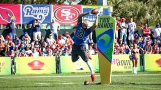 Odell Beckham jr. competes in Skills Hands Competition 2017 Pro Bowl (2017)