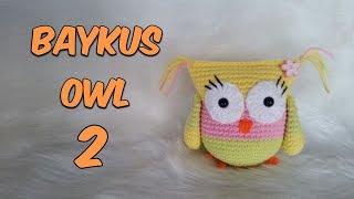 Amigurumi Örgü Baykuş 2 Amigurumi Crochet Owl 2