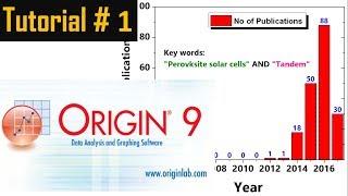 Origin Pro: How to draw a graph -Tutorial # 1