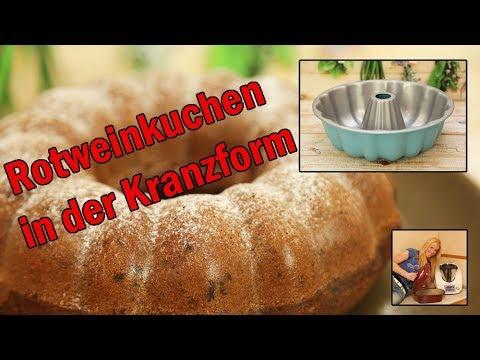 Rotweinkuchen mit dem Thermomix und der Kranzform von Pampered Chef