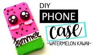 DIY: SMARTPHONE CASE -WATERMELON KAWAII-