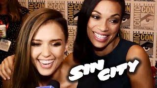 Джессика Альба, Sin City 2 Interviews - Comic-Con 2014 (Josh Brolin, Jessica Alba, Rosario Dawson)