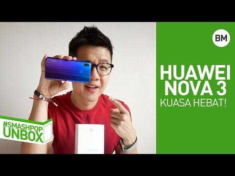 Buka kotak HUAWEI NOVA 3 yang berkuasa hebat!