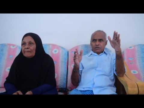 Parents of Shaheed Hussain Adam