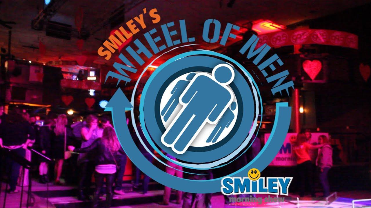 Smiley Morning Show WHEEL OF MEN 2015