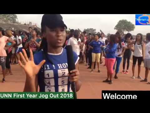 UNN FIRST YEAR STUDENTS JOG OUT 2018 LIVE ON TANAMAFUN TV