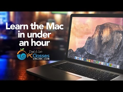Learn the Mac In Under An Hour (See Notes for Updated Class ...