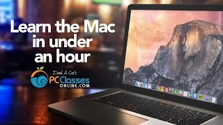 Learn the Mac In Under An Hour (See Notes for Updated Class)