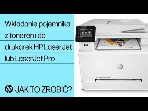 Instalowanie kaset z tonerami w twojej drukarce HP LaserJet lub LaserJet Pro