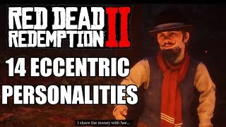 14 Weird Characters In Red Dead Redemption 2