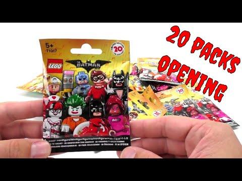 Lego 71017 The LEGO Batman Movie Minifiguren - 20 Pack Opening - deutsch review