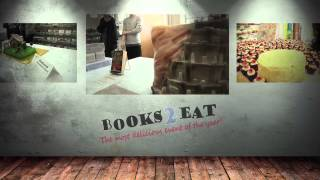 preview picture of video 'Eat Your Books! - Midland Books 2 Eat 2015'