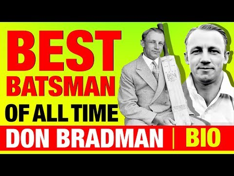 Best Batsman of All Time ▶ Sir Don Bradman (डॉन ब्रैडमैन) Biography in Hindi   Australian Cricketer