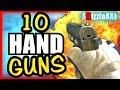10 Best Pistols That Got Noobs Mind Blown lol - Are You A Noob? (Black O...