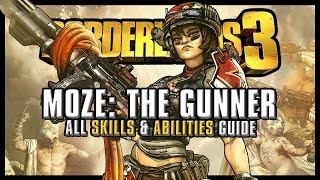 Borderlands 3 - Moze Full Skill Tree & Builds | The best Breakdown