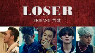 BIGBANG - LOSER Lyrics with English Translation