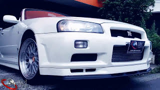 CLEAN, BEAUTIFUL, WONDERFUL GTR R34 V-spec II NUR at JDM EXPO