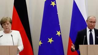 ШОК! На угрозы Меркель Путин сказал.... Последние новости 24.05.2018
