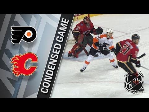 Philadelphia Flyers vs Calgary Flames – Dec. 04, 2017 | Game Highlights | NHL 2017/18. Обзор матча