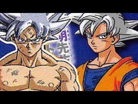 Goku's Mastered Ultra Instinct SUPER SAIYAN SILVER + #LILJIREN