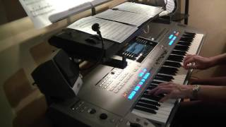 Beautiful life (Ace of Base) - yamaha tyros 5