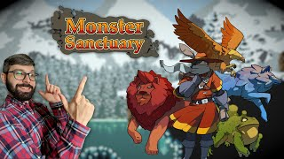 Youtube thumbnail for Monster Sanctuary Review | Metroidvania with pet battles