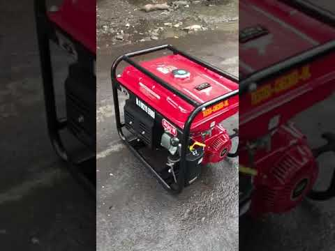 9kw Bajaj-M Noise Version Self Start & Recoil Start Petrol Portable Genset