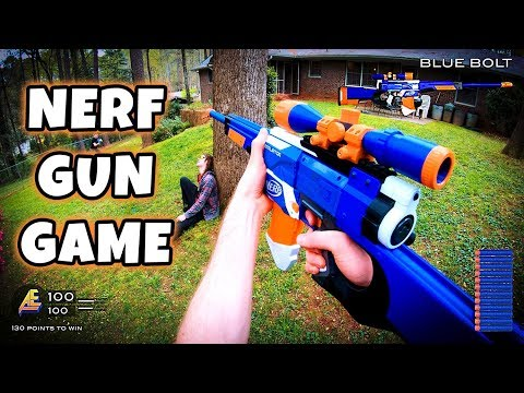 A Nerf War meets Call of Duty: Gun Game with epic modded Nerf blasters by Lord Draconical. First Player through all 13 modded Nerf Guns wins! Nerf Gun ...