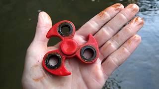 River Hunting! - Found Nemo, Brass Knuckles, Fidget Spinner and More! | Nugget Noggin