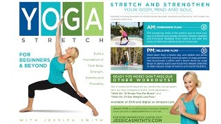 "Introducing our brand new ""Yoga Stretch for Beginners and Beyond"" DVD"