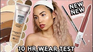 NEW RELEASES   MAYBELLINE DREAM URBAN COVER SPF50   WEAR TEST REVIEW
