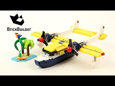 Vidéo LEGO Creator 31064 : Les aventures sur l'ïle