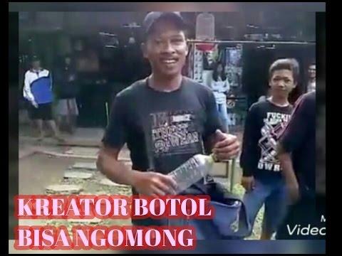 Video Botol bisa bicara # bannjir undangan pak Kusen sang kreator asal Jawa