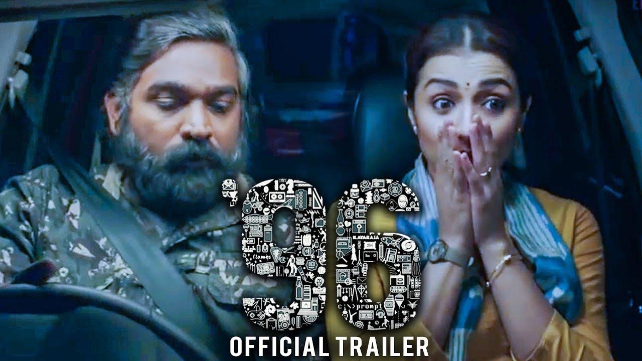 96 Official Trailer Reaction | Vijay Sethupathi, Trisha | Govind Vasantha
