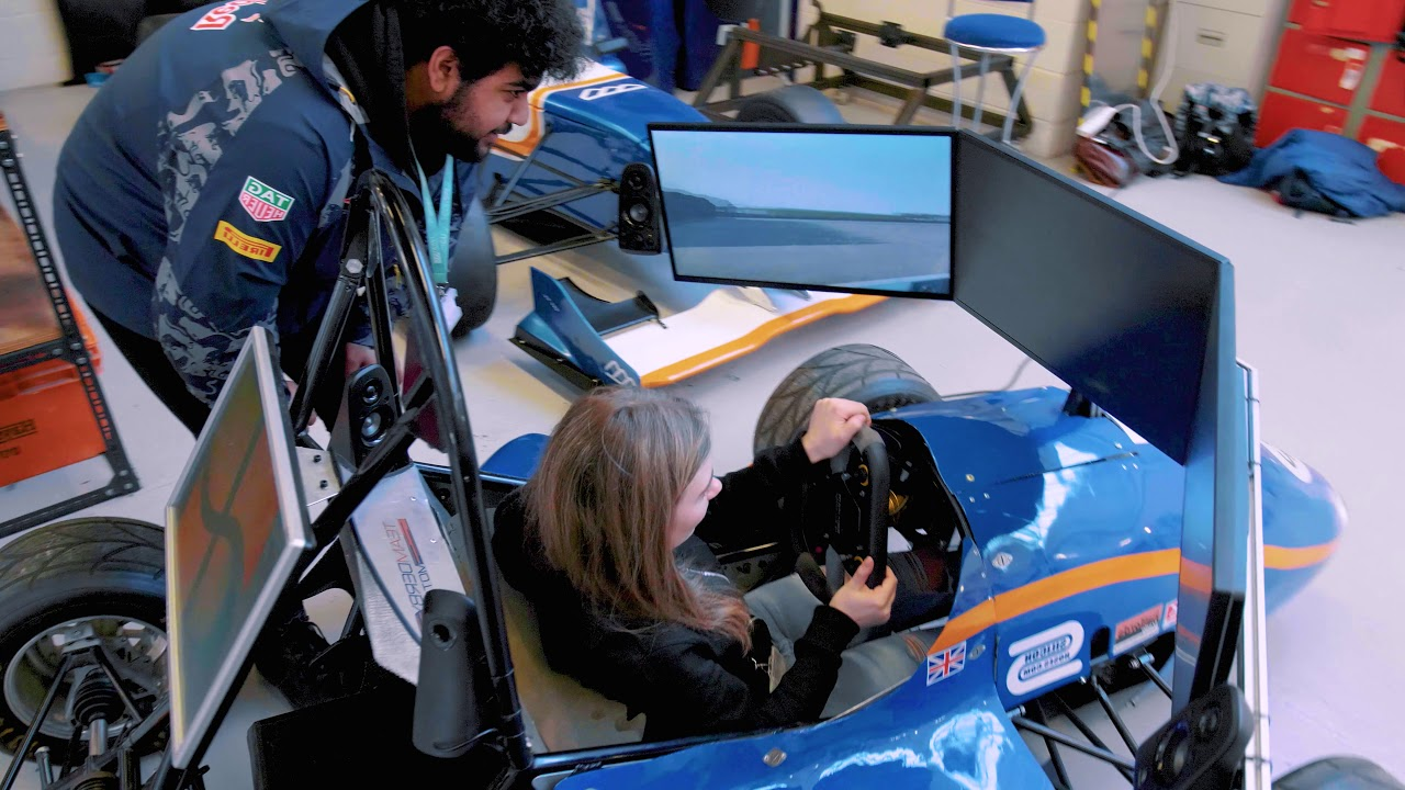 Get a feel for what it's like to study Motorsport at the University of Derby