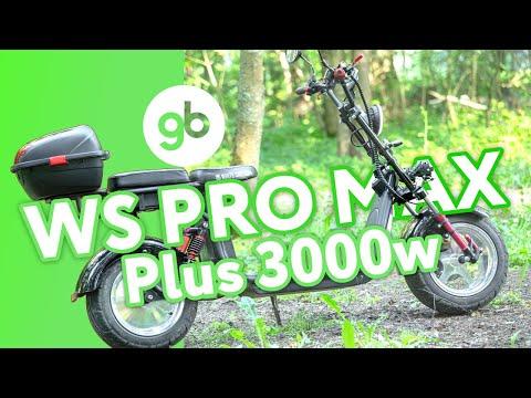 Электроскутер CityCoco WS Pro MAX Plus 3950w (Черный)