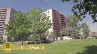 preview picture of video 'Vidéo Appartements à louer Montréal - 335 Blvd Deguire'