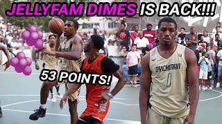 Isaiah JELLYFAM Washington's RETURN To Dyckman GOT CRAZY!! Drops 53 In Front Of Wild NYC Crowd 😱