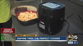 Daphne tries the Perfect Cooker
