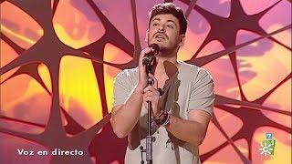 La tarde, aquí y ahora | Cepeda canta en directo la versión acústica de