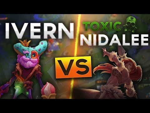 huge selection of 72195 f06cc HOW I DEAL WITH TOXIC LOL PLAYERS - IVERN VS NIDALEE JUNGLE (Pre Season 8)  - Mattheos