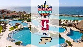 2016 Cancun Challenge WBB | Stanford vs. Purdue (No Audio)