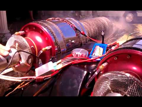 Sydney Man Constructs Street Luge With Turbines And Afterburners