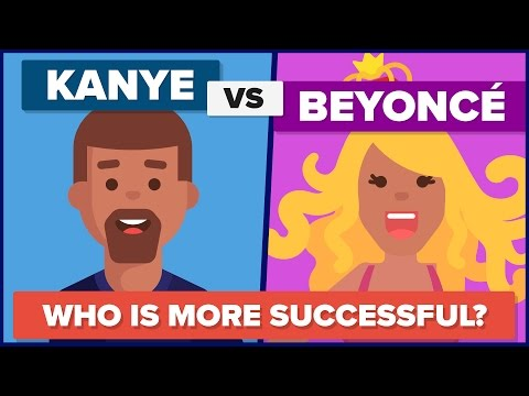 Download Is Beyonce Richer and More Successful Than Kanye? Mp4 HD Video and MP3