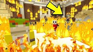 INSANE SCHOOL FIRE! [Death...?] - Super Nintendo Series - (Minecraft Switch) [32]